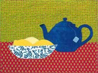 Teapot with Lemons